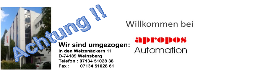Willkommen bei apropos Automation!